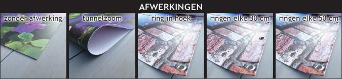 Afwerking tuinposters posterwand.com